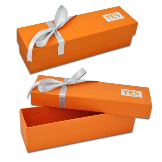 Коробка крышка-дно, обтянутая дизайнерской бумагой