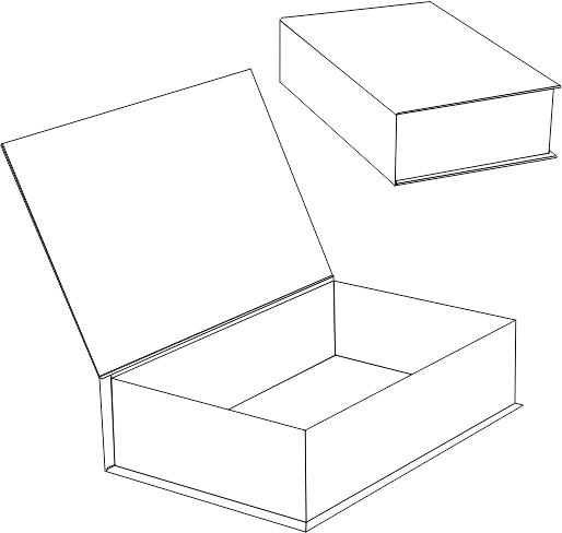 Подарочная коробка-книга
