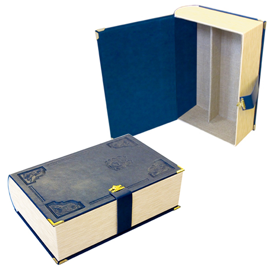 Футляр-книга, обтянутая натуральной кожей