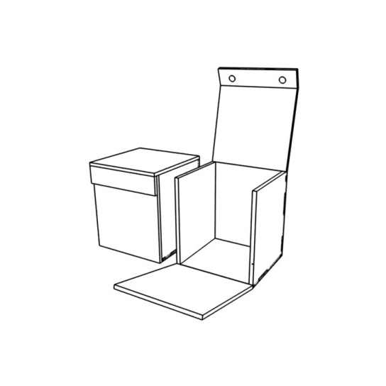 Подарочная коробка-редикюль