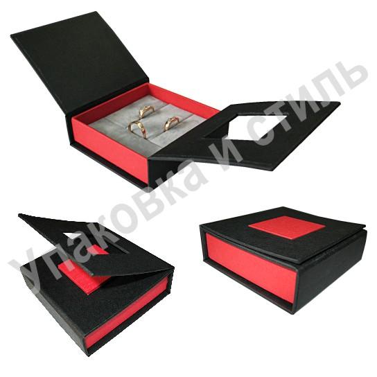 Как сделать коробочку для кольца и сережек