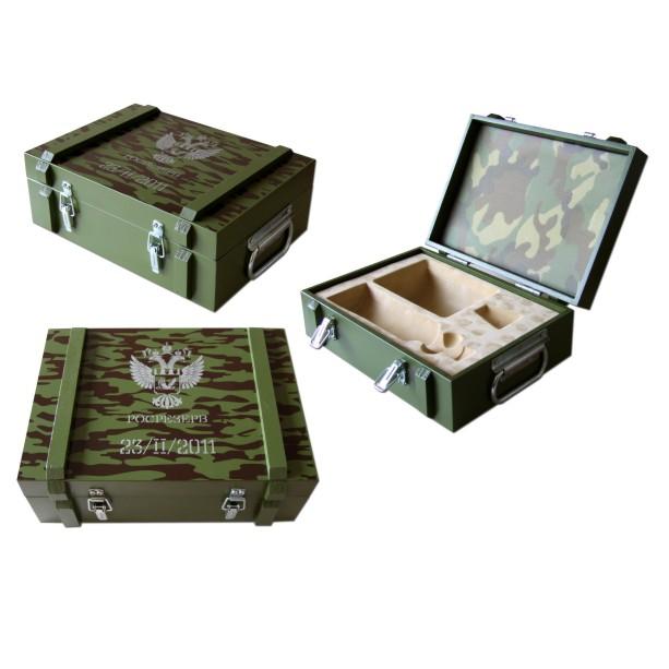 Подарочный деревянный ящик с